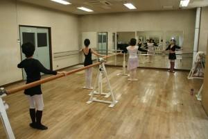 大塚のバレエ教室のアダルトクラス